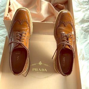 Prada. Slightly worn . Exellent conditions,